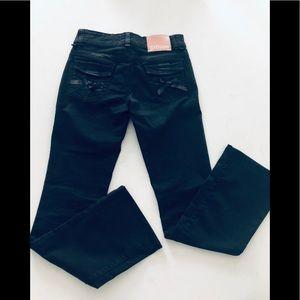 Galliano black jeans 26